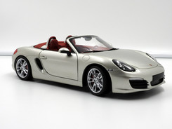 Porsche Boxster S (981) silver - 2012 - Minichamps