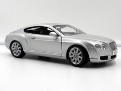 Bentley Continental GT (Silver) - 2003 - Minichamps