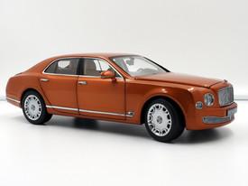 Bentley Mulsanne (Orange Flame) - 2010 - Minichamps