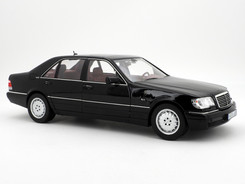 Mercedes-Benz S 600 (W140 black) - 1997 - Norev
