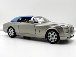 Rolls-Royce Phantom Drophead Coupe (Platinum Light Blue) - 2013 - Kyosho
