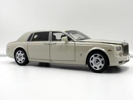 Rolls-Royce Phantom EWB (Carrara White) - 2012 - Kyosho