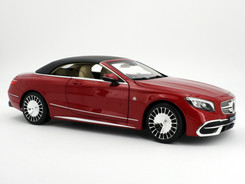 Mercedes-Maybach S 650 cabriolet (Red) - 2018 - Norev