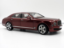 Bentley Mulsanne Speed (Rubinho Red) - 2014 - Kyosho
