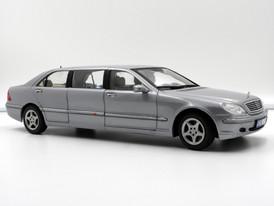 Mercedes-Benz S 600 Pullmann Silver (W220) - 2001 - SunStar