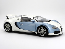 Bugatti Veyron Production Car (pearl-blue) - 2005 - AUTOart
