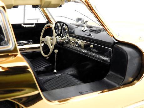 Mercedes-Benz 300 SL Gold - 1954 - Minic