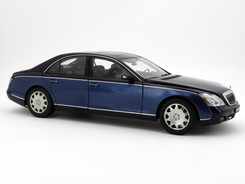 Maybach 57 (Côte d'Azur Dark Blue) - 2002 - AUTOart