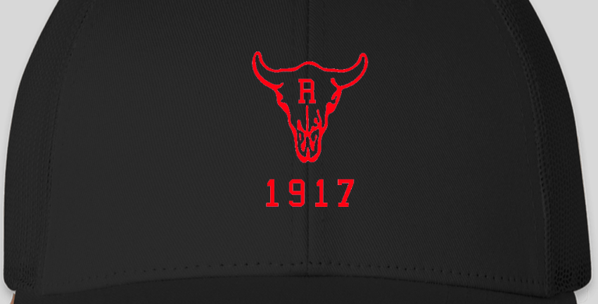 Ranch 1917 Trucker Snapback Black/Black (ONE SIZE FITS MOST)