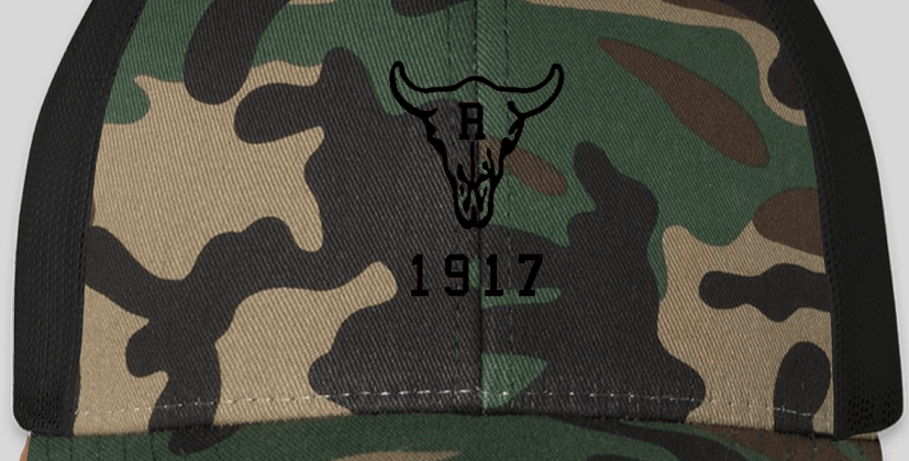 Ranch 1917 Trucker Snapback Camo/Black (ONE SIZE FITS MOST)