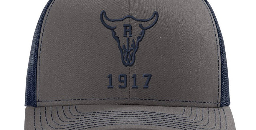 Ranch 1917 Trucker Snapback Grey/Navy (ONE SIZE FITS MOST)