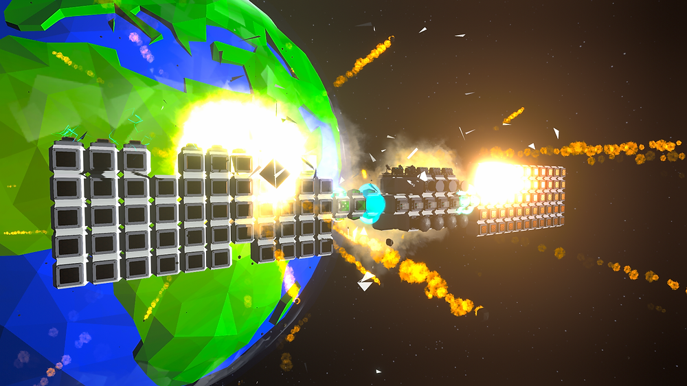 Orbitect destroyed blocks