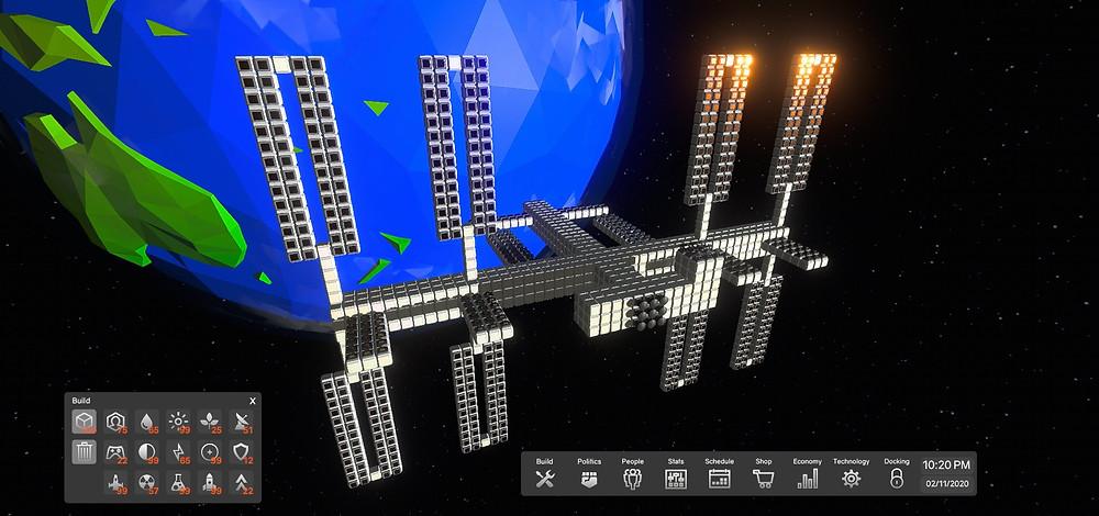 International Space Station replica in Orbitect
