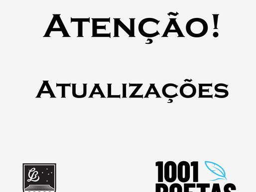 ATENÇÃO: 1001 Poetas com atualizações
