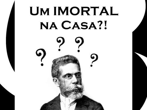 Um IMORTAL da Academia Brasileira de Letras em nossa Casa!