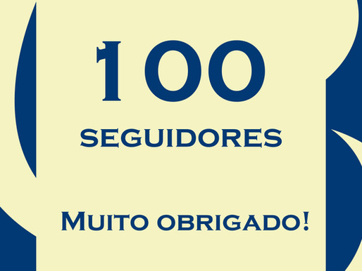 Os 100 primeiros seguidores no Instagram!