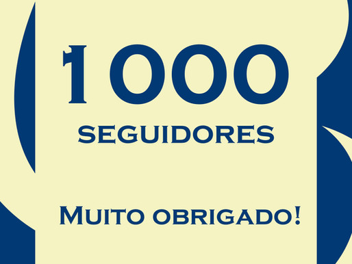 1000 seguidores!