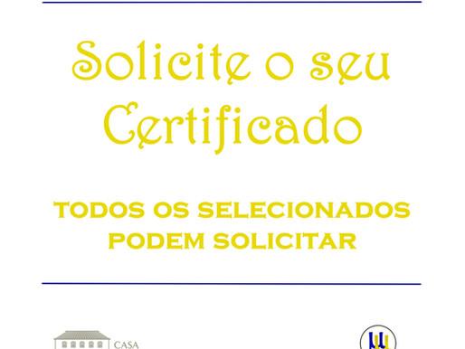 Certificados do MicroConto de Ouro 2021