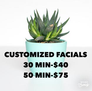 Customized Facials