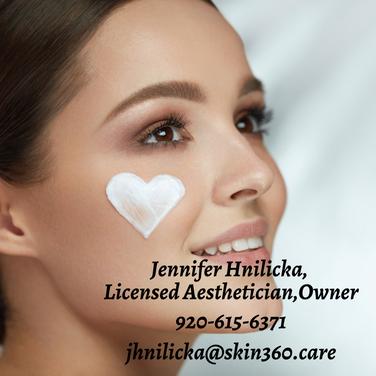 Jennifer Hnilicka, Licensed Aesthetician