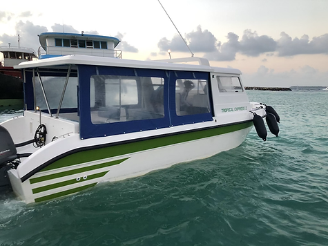 16 seater speed boat