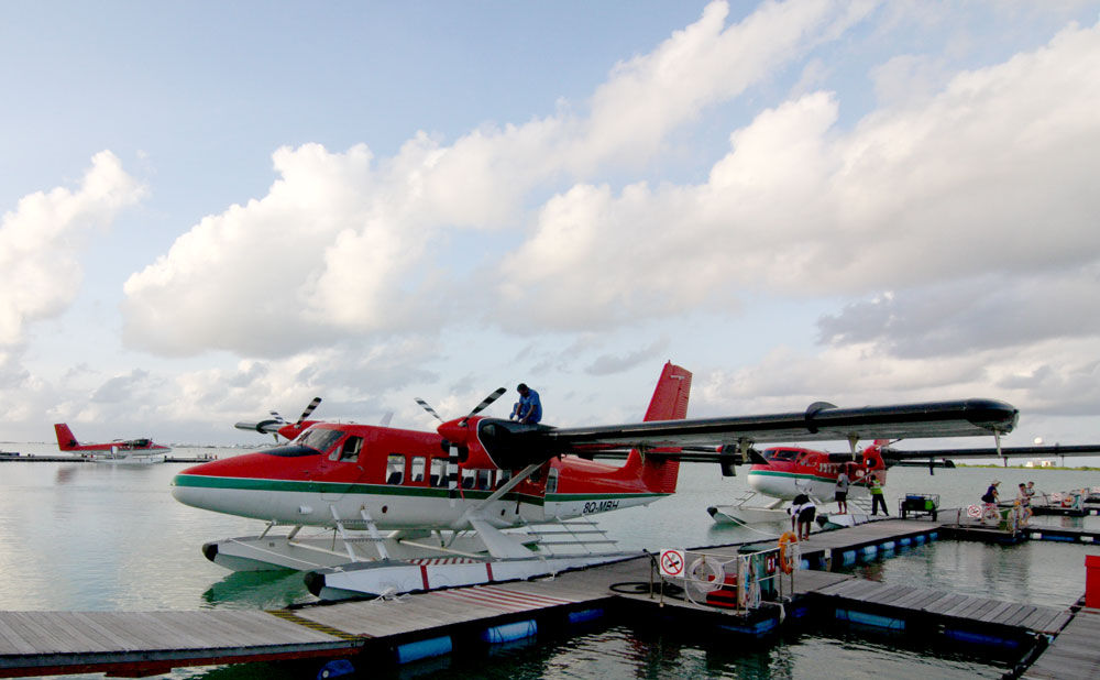 Maldives Seaplane Transfer