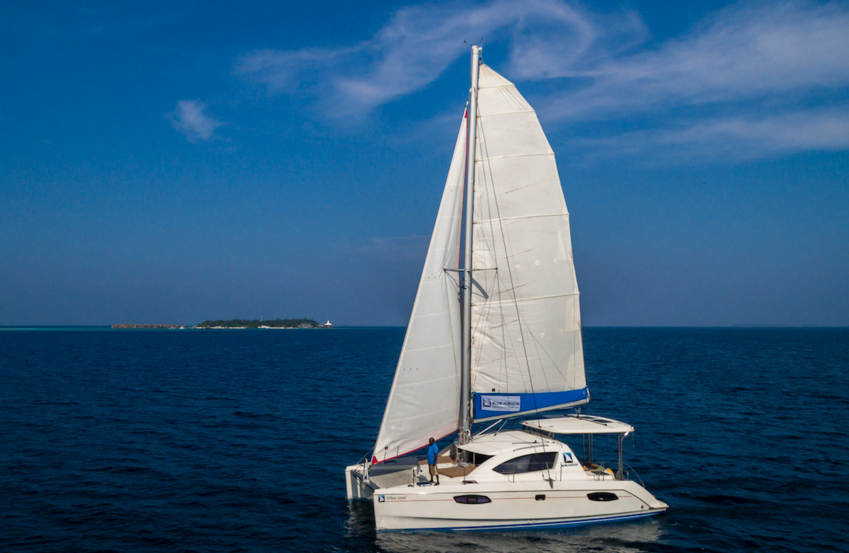 catamaran yacht Maldives