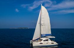 catamaran yacht Maldives
