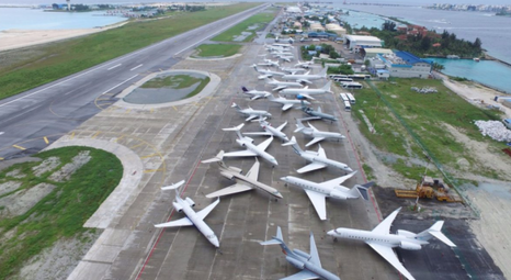 velana international airport private jet