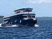 Maldives public ferry Boat,Dhoni