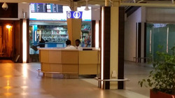 Airport Information counter