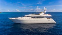 Azumut 85 yacht in Maldives