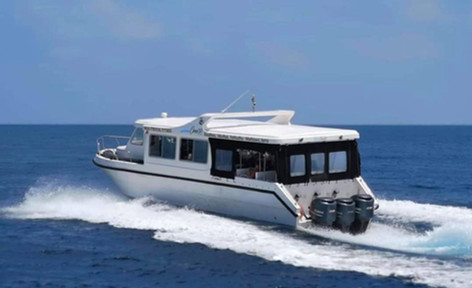 Schedule Speedboat Transfer