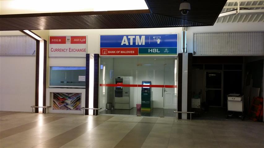 Airport ATM Machines