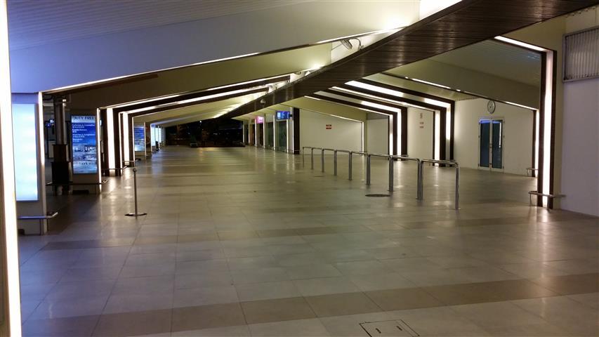 Airport Out Door Departure Terminal