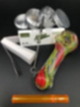smoking accessories, starter kit, pipe kit, glass pipes, glass kit, smokerz, smoking kit, handpipes,