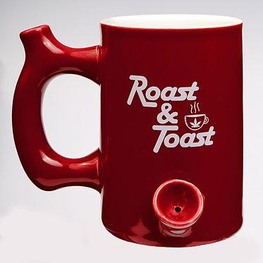 Roast & Toast Red Mug