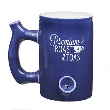 Roast & Toast Blue Mug