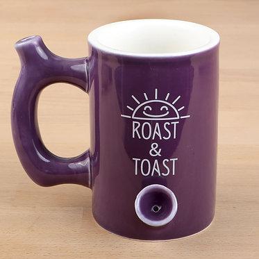 Roast & Toast Purple Mug