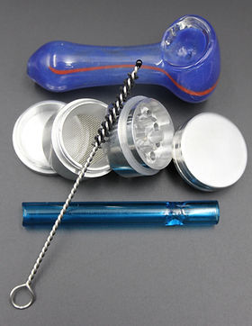 Rookie Kit, smoking kit, smkerzkit, smokers kit, smoke kit, handpipes, glass pipes,