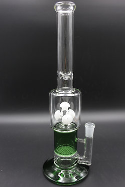 14inch Button Perc Water Pipe