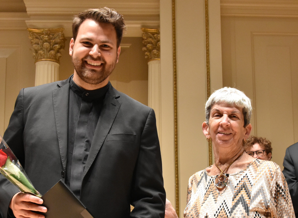 Joel Balzun Robert & Winifred Connelly Green Award Presented by Cate Green
