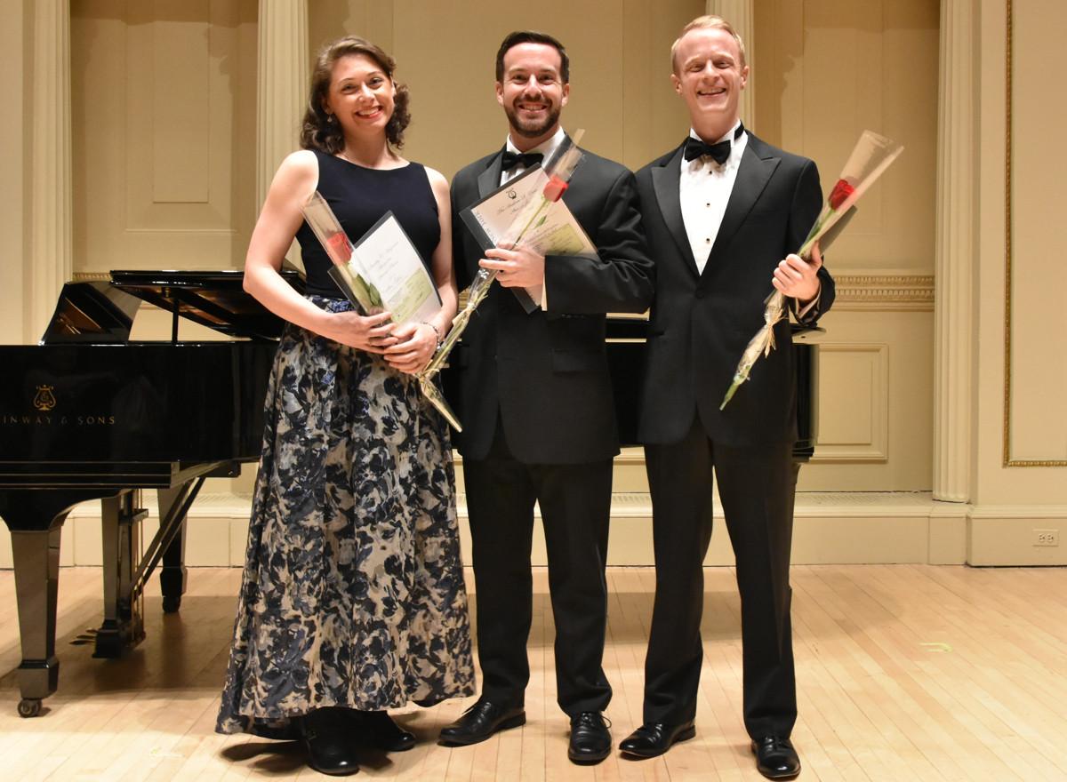 Heather Petrie, Steven Eddy, Nathaniel Sullivan