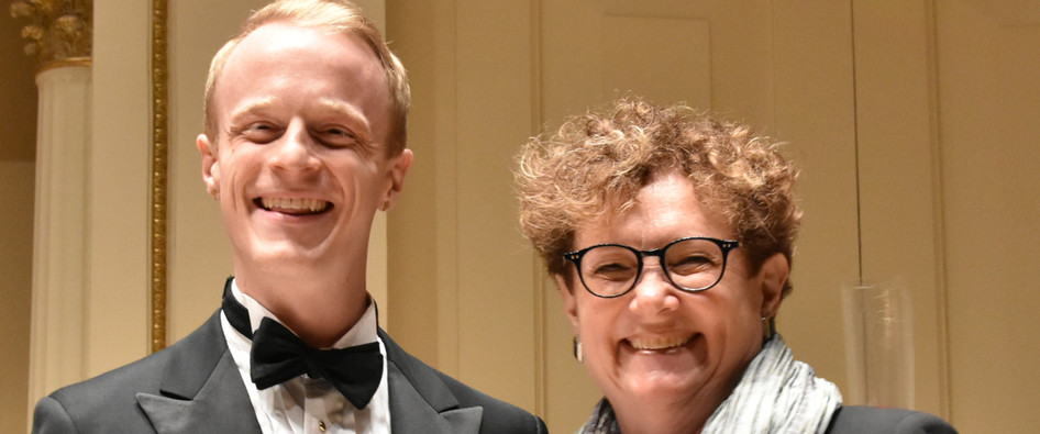 Nathaniel Sullivan Janet Plucknett Award for Third Place Presented by Mary Vaughn