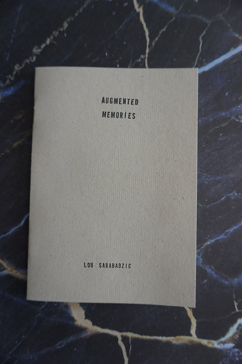 """""""Augmented memories"""" Pamphlet"""