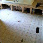Tile and Plumbing