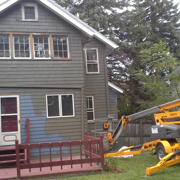 Getting New Paint and Windows