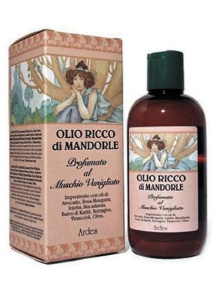 Масло сладкого Миндаля парфюмированное Ванильный Мох.