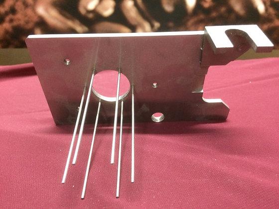 Slide plate with sweeps for Mahlkonig VTA6S grinder