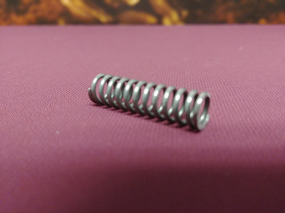 Shaker rod spring for brass shaker rods.
